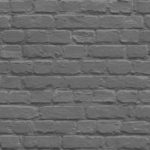 Mural Wallpaper Painted Brick Black Muriva L22619
