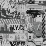 Modern Wallpaper Liberty Silver Muriva L32409