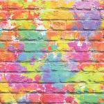 Modern Wallpaper Camouflage Brick Multi Muriva L33505