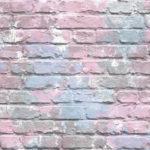 Modern Wallpaper Camouflage Brick Lilac Muriva L33506