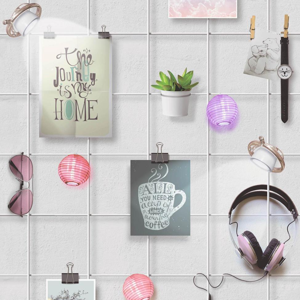 Modern Wallpaper Nic Nacs Multi Muriva L34809