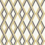 Modern Wallpaper Carus Yellow Muriva L35502 Roomshot