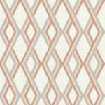 Modern Wallpaper Carus Orange Muriva L35505