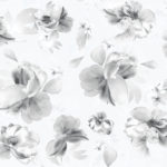 Floral Wallpaper Lipsy Soft Petals Grey Muriva 144021 WP