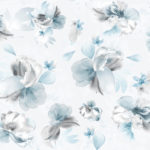 Floral Wallpaper Lipsy Soft Petals Blue Muriva 144022 WP